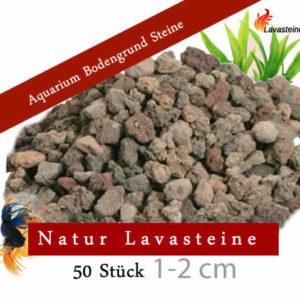 Aquarium Bodengrund Steine 50 Stück